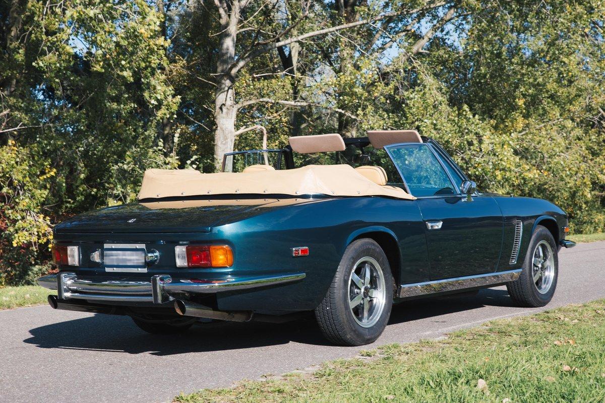 1974 Very nice Jensen Interceptor III convertible. For Sale (picture 2 of 6)
