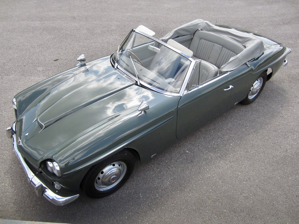 1965 Jensen CV8 Convertible (The only factory Convertible) For Sale (picture 1 of 6)