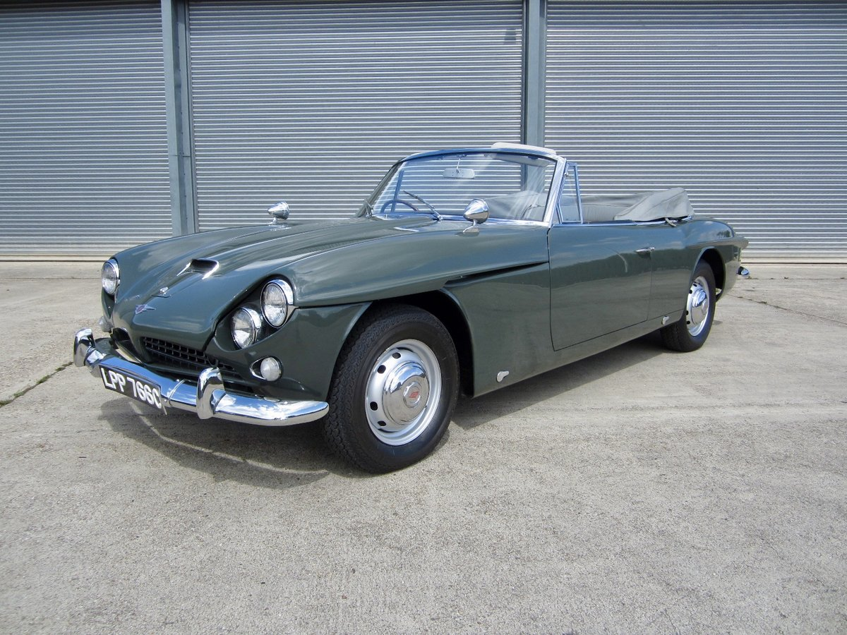 1965 Jensen CV8 Convertible (The only factory Convertible) For Sale (picture 4 of 6)