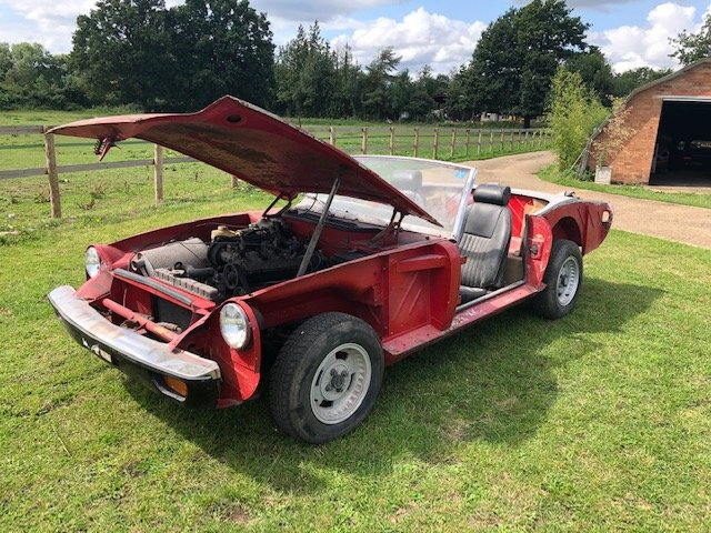 1973 Jensen Healey project or parts For Sale (picture 1 of 6)