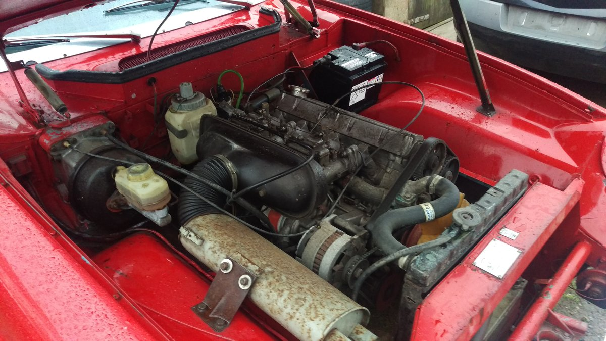 1973 Jensen Healey MK1 MOT TAX Exempt  For Sale (picture 4 of 6)