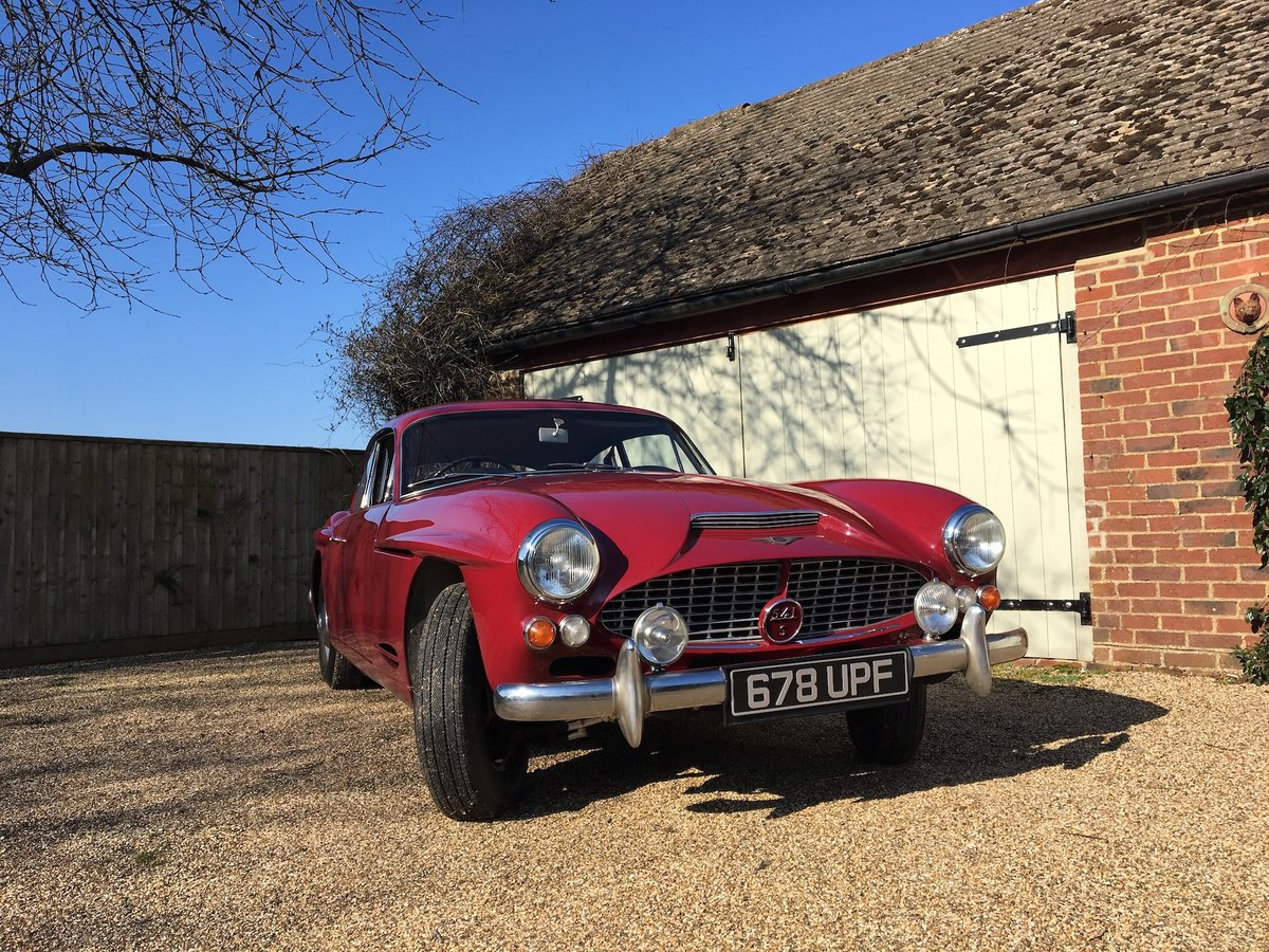 1961 Jensen 541S - Very low mileage 1 of 20 Manual/Overdrive SOLD (picture 1 of 6)