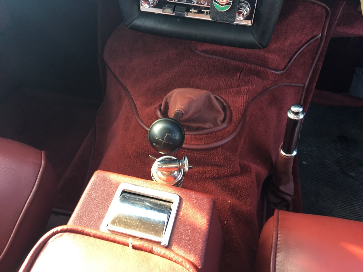 1961 Jensen 541S - Very low mileage 1 of 20 Manual/Overdrive SOLD (picture 4 of 6)