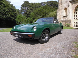1972 The first RHD Jensen Healey