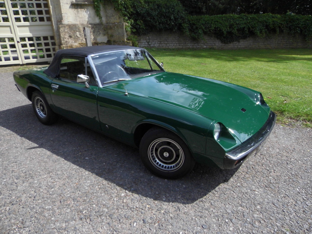 1972 The first RHD Jensen Healey For Sale (picture 2 of 6)