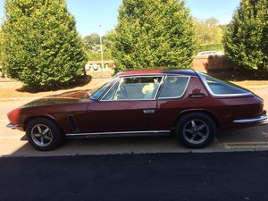 1974 Jensen Interceptor: Deepcoral Red Crystal