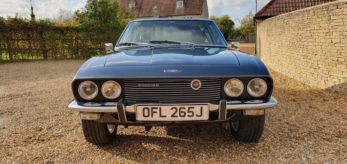 1971 Jensen Interceptor Mk II  For Sale (picture 3 of 6)