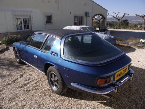 1976 Jenson Interceptor 111 Original,low miles currently in Spain For Sale (picture 2 of 6)