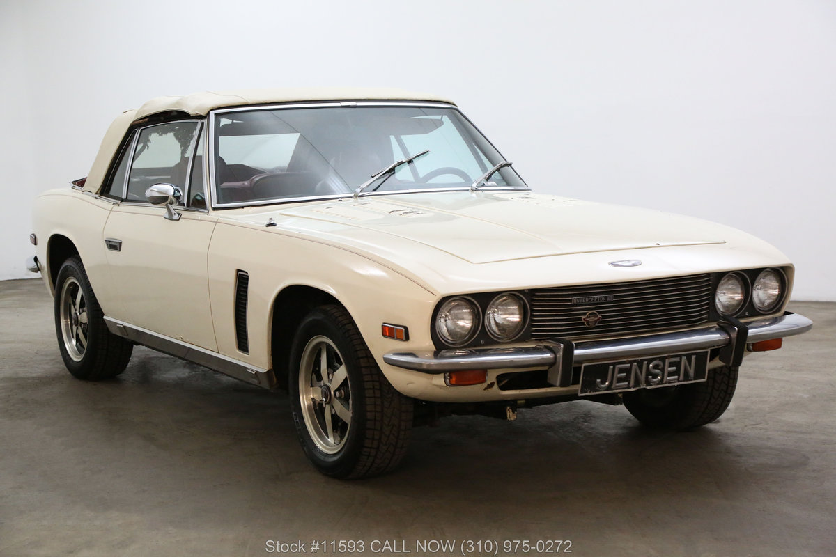 1974 Jensen Interceptor Convertible For Sale (picture 1 of 6)
