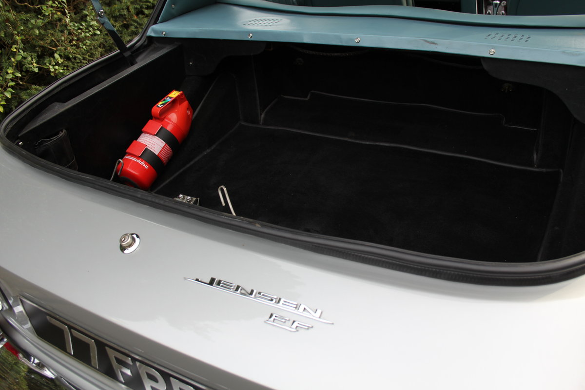 1967 Jensen FF Vignale MkI, One of eight remaining For Sale (picture 23 of 23)