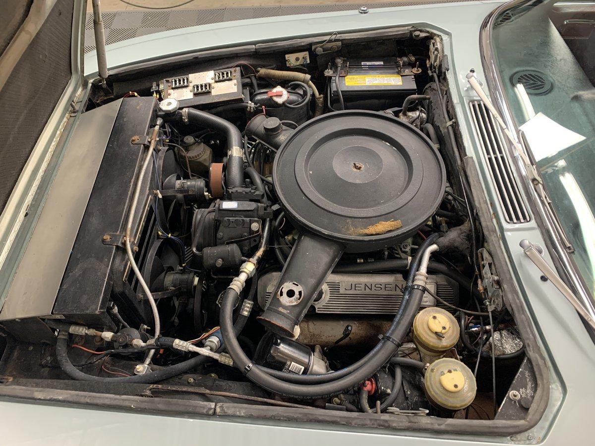 1974 Jensen interceptor convertible. Series 3, v8 For Sale (picture 5 of 6)