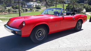 1973 LHD - Jensen Healey Lotus, sold new in Spain.