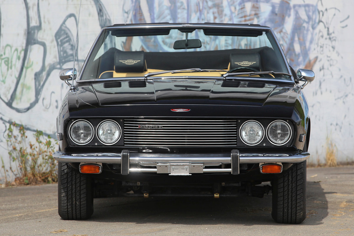 1974 One of only 456 original Jensen Interceptor dropheads For Sale (picture 2 of 6)