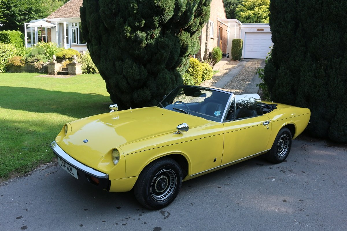 1973 JENSEN HEALEY CONVERTIBLE For Sale (picture 1 of 6)