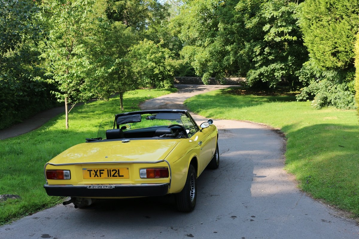 1973 JENSEN HEALEY CONVERTIBLE For Sale (picture 6 of 6)