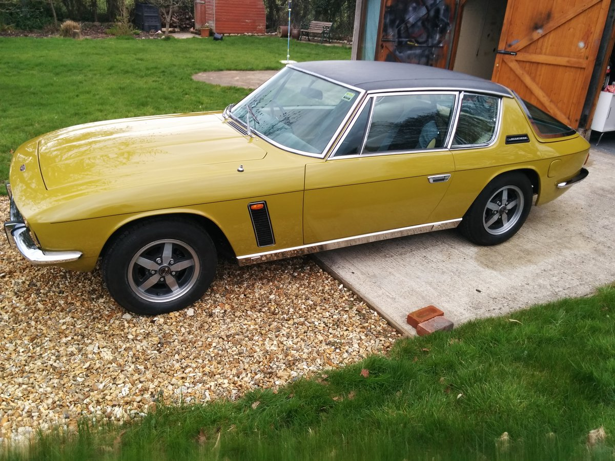 1972 Jensen Interceptor III HP - one prev family owner SOLD (picture 1 of 5)