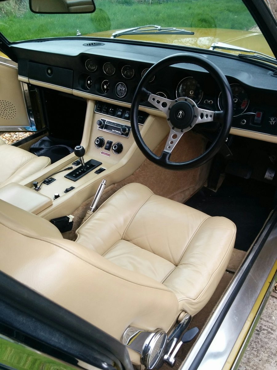 1972 Jensen Interceptor III HP - one prev family owner SOLD (picture 3 of 5)