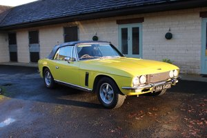 1975 JENSEN INTERCEPTOR CONVERTIBLE For Sale