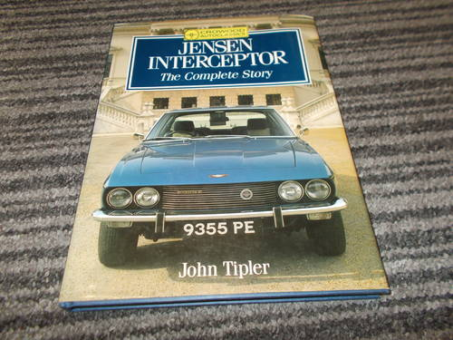 0000 jensen interceptor the complete story For Sale (picture 1 of 2)