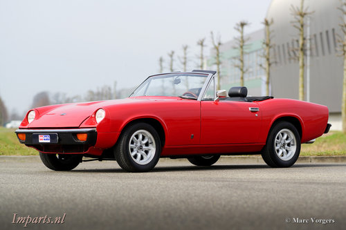 1973 Jensen Healey Cabriolet LHD For Sale (picture 1 of 6)