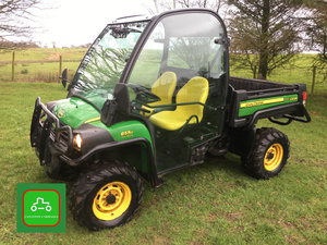 2017 JOHN DEERE GATOR 1 OWNER FULL CAB LO HRS SEE VIDEO SOLD