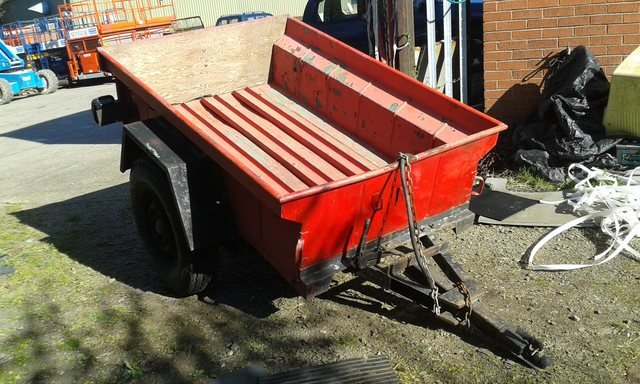1964 JEEP TRAILER M416 For Sale (picture 2 of 6)