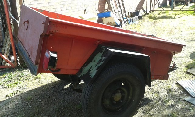 1964 JEEP TRAILER M416 For Sale (picture 6 of 6)