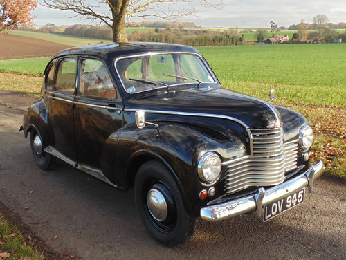 1951 Jowett Javelin SOLD (picture 2 of 6)