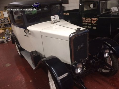1930 Jowett White Lady For Sale (picture 1 of 4)
