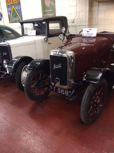 1924 Jowett Short Two For Sale (picture 1 of 3)