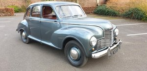 **MARCH AUCTION** 1951 Jowett Javelin  SOLD by Auction