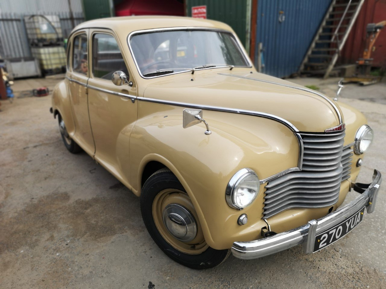 1953 Jowett Javelin Classic historic car, Saloon For Sale (picture 1 of 6)