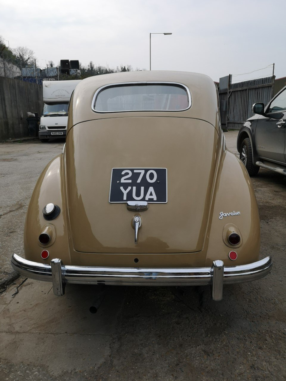 1953 Jowett Javelin Classic historic car, Saloon For Sale (picture 2 of 6)