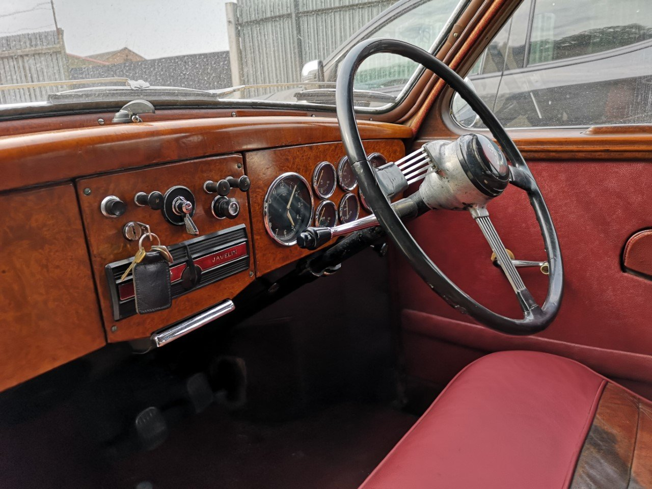 1953 Jowett Javelin Classic historic car, Saloon For Sale (picture 4 of 6)