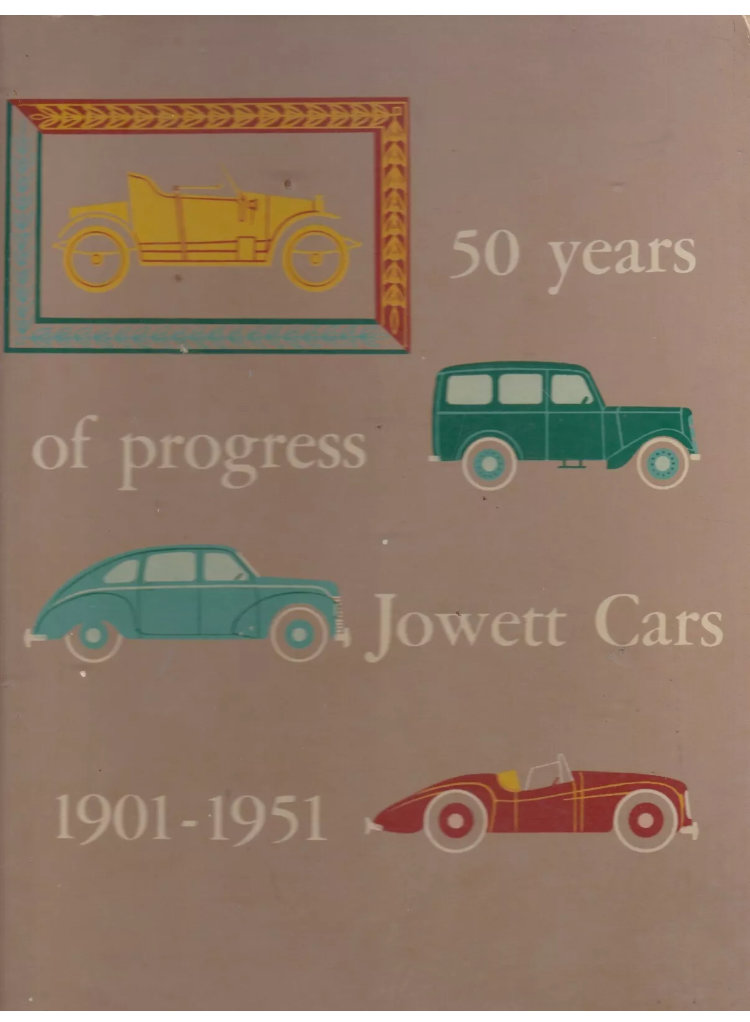 50 years of Jowett book/brochure For Sale (picture 1 of 6)