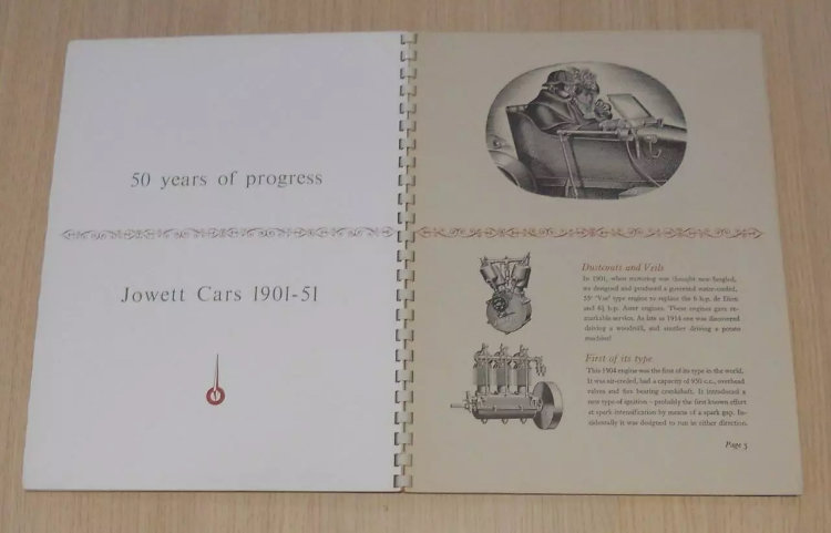 50 years of Jowett book/brochure For Sale (picture 3 of 6)