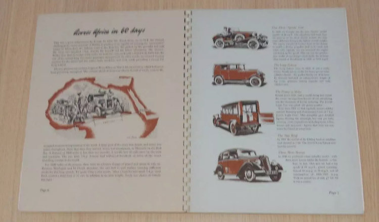 50 years of Jowett book/brochure For Sale (picture 4 of 6)