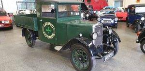 1931 **OCTOBER ENTRY**  Jowett 7/17HP Truck