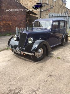 Picture of 1937 Jowett 8 Deluxe with sunroof