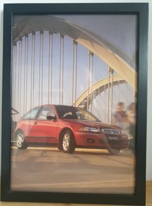 Picture of 1951 Original 1998 Rover 200 Framed Advert