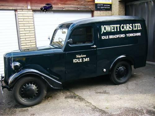c3bb29c31b 1950 Jowett Bradford Van For Sale