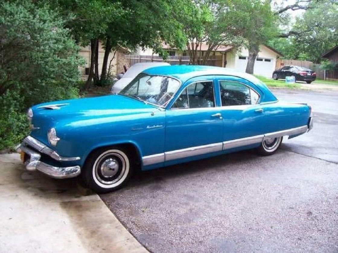 1953 Kaiser Manhattan 4DR Sedan For Sale (picture 1 of 3)