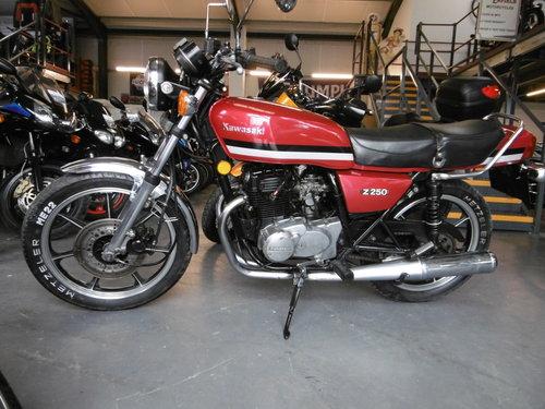 Kawasaki Z250 Rare bike 1981 All correct . SOLD (picture 1 of 6)