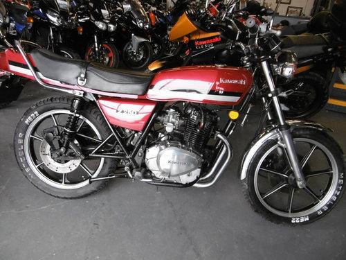 Kawasaki Z250 Rare bike 1981 All correct . SOLD (picture 2 of 6)