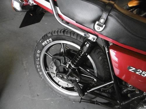Kawasaki Z250 Rare bike 1981 All correct . SOLD (picture 6 of 6)