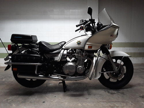 Original Kawasaki KZP1000 Police year 1986 (v.g.c) For Sale (picture 1 of 6)