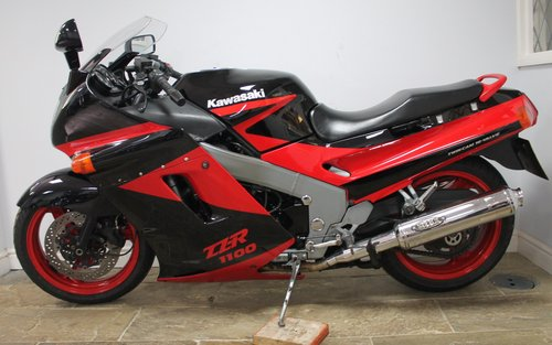 1992 Kawasaki ZZR1100 Retro Classic , 22,000 Mles ,3 Owners For Sale (picture 4 of 6)