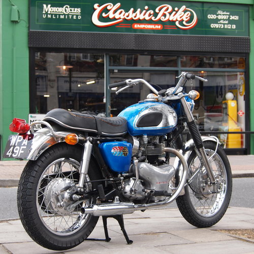 1968 Super Rare W2 SS 650 Street Scrambler Twin Carb Model. SOLD (picture 1 of 6)