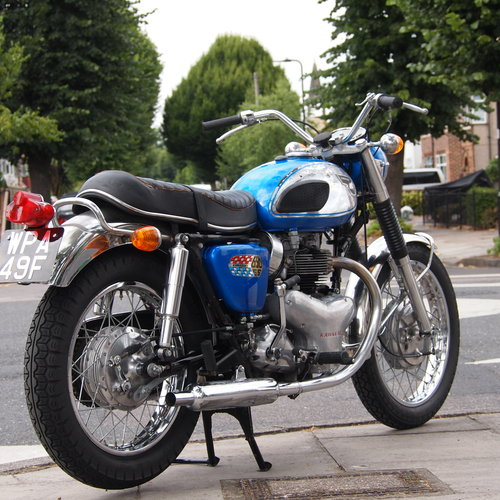 1968 Super Rare W2 SS 650 Street Scrambler Twin Carb. SOLD SOLD (picture 1 of 6)