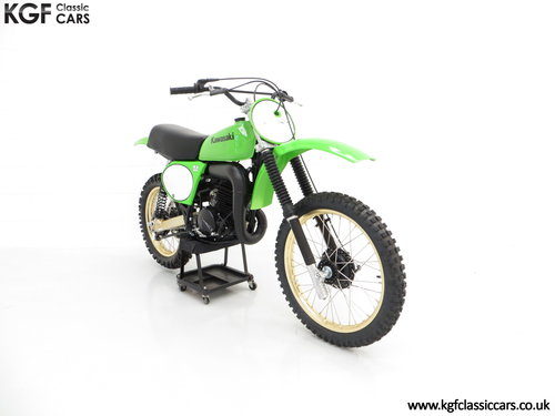 One of 1717, a Legendary 1978 Works Kawasaki KX250-A4 SOLD (picture 1 of 6)